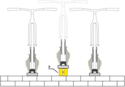 B - Universal Mounting Extension